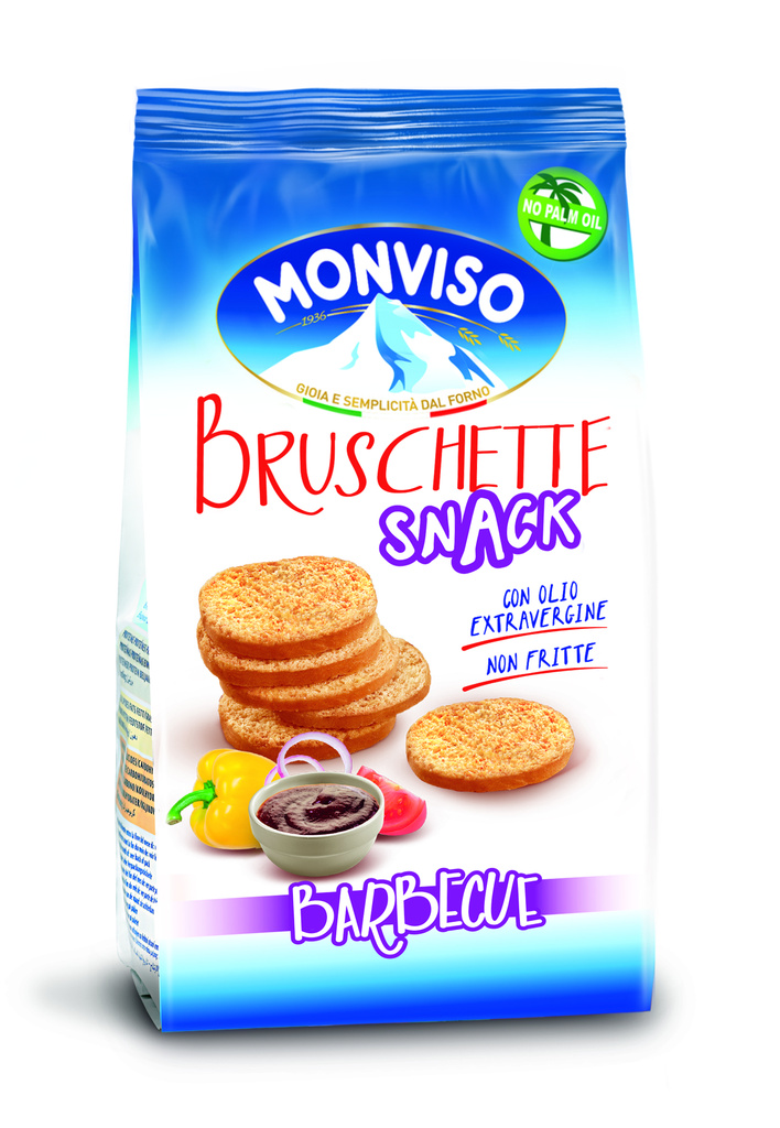 9-40014 Bruschetta barbecue MONVISO 50g